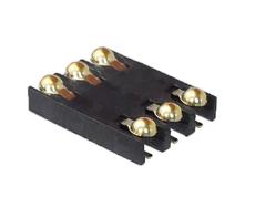 SIM卡座6P球形端子卡槽卡座1.51.8H2.0H电子