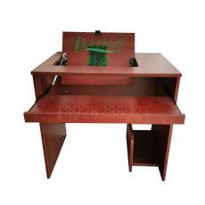 多媒体电教室翻转桌学校机房培训电脑桌科桌