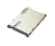 SIM卡座自弹式7P 9P常闭开关连接器卡槽