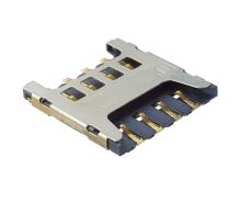 MICRO SIM卡座8P直插式1.5HSIM卡槽物联网