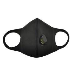 双层呼吸阀海绵口罩 进口聚酯海绵口罩工厂