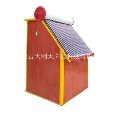 張掖農村太陽能熱水器一體浴房批發