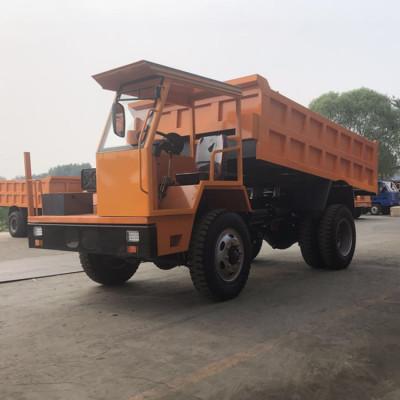南昌轮式16吨的湿式制动矿井运输四驱车