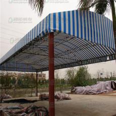 廣東建筑屋安全措施   紅白藍彩條布外圍
