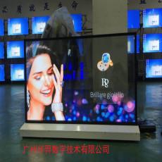 55寸OLED透明屏 拼接光源顯示設備 輕薄顯示