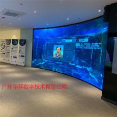 廣州廠家直銷多媒體展廳OLED柔性拼接屏