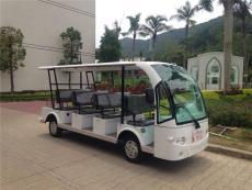 供應重慶景區旅游11座電動觀光車