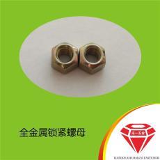 庄一/压点式金属六角锁紧螺母GB6185