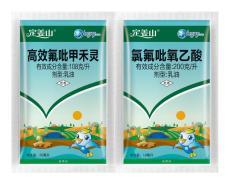 高效氟吡甲禾靈加氯氟吡氧乙酸復配姜田除草