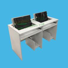 學生培訓電腦桌電教室翻轉桌多媒體機房桌