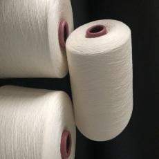 粘胶羊毛纱85/15配比32支本白