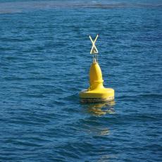 海上桿形燈浮標1.5米柱形浮標尺寸簡介