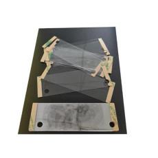 防火電子黑色pet耐高溫絕緣墊片 背膠模切