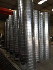重慶萬州角鐵法蘭風管廠螺旋風管加工