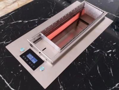 无烟自动烧烤炉电热无烟自动烧烤机生产厂家