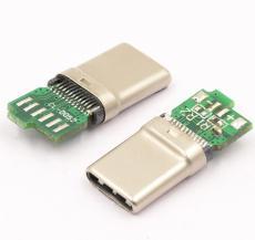 USB 3.1 TYPE-C公�^ 拉伸式�О�SMT �A板