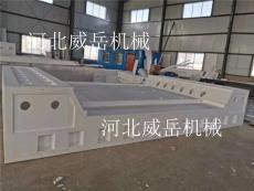 高強度帶槽1.8x3.5鑄鐵試驗平臺 焊接平臺促