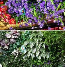 西安室內外綠植墻 仿真綠植墻 商場綠植墻