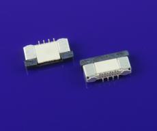 FFC連接器 0.5mm間距H2.0mm高立式貼片正腳