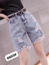 2020廣州最新爆款牛仔短褲走份時尚潮流百搭