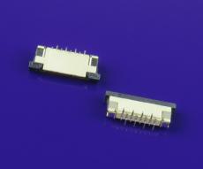 8P-FPC連接器 1.0mm間距 2.5H 立式貼片正腳