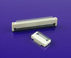FFC插座 0.5mm間距4-60P 2.0H掀蓋FPC連接器