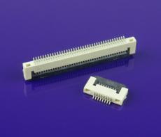 FPC連接器 0.5mm間距 1.5H掀蓋式 多PIN腳