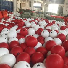 水面防撞擊聚乙烯浮球抗風浪警示浮漂報價