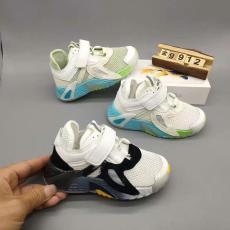 巴布豆品牌新款单网运动童鞋批发明星同款
