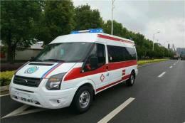 十堰私人救護車轉運安全可靠