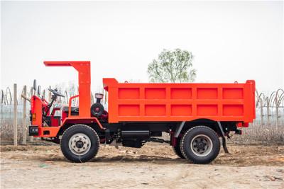 西安采用气刹制动的矿用六轮自卸车