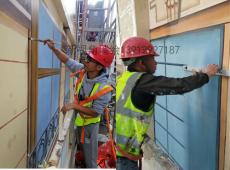江蘇外墻彩繪美化CH4新款手繪歐式壁畫窗戶