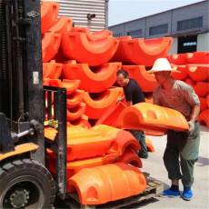 自來水廠抱管浮體高強度抽沙管道浮漂尺寸