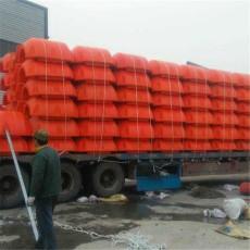 河道塑料管道浮筒海上夾管塑料浮體尺寸
