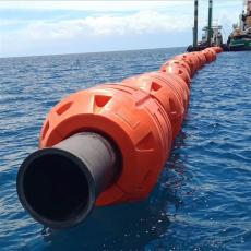海上抱管塑料浮筒14寸16寸聚乙烯浮體型號