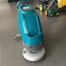 手推式洗地机 商场地面小型电动洗地机