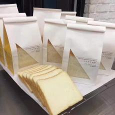开窗面包袋用单光白牛皮纸