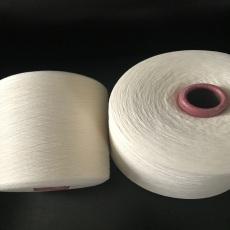 棉羊毛80/20混紡紗32支在機生產