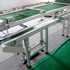 轻型皮带输送机  工作台水平皮带输送机