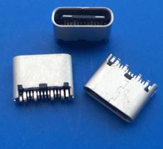短體6mm夾板TYPE C母座 超短焊線式USB3.1