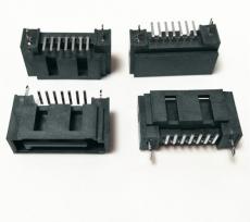 SATA連接器硬盤SATA7P接口7pin連接器接插件