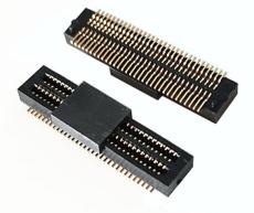 64P貼片板對板連接器0.5MM手機板對板連接器