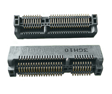 MINI PCI E連接器52PIN 6.7高 PCI E座子