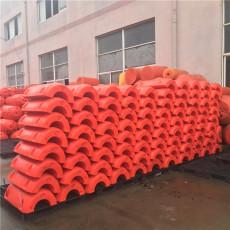 大口徑管道浮漂河道抽沙聚乙烯浮體制造商