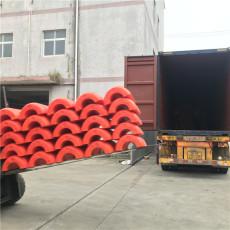 防城港抽沙管道浮體抗沖擊聚乙烯浮筒安裝