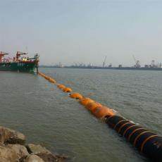 海上兩半片疏浚浮體外直徑70公分管道浮漂
