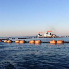 海上夾管道浮漂抗老化聚乙烯浮體廠家安裝