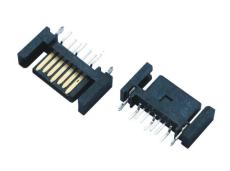 SATA 7P 公頭SMT 7PIN  IEEE1394母座鍍金