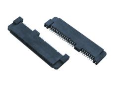 SATA 7加15P母座SMT 22PIN連接器 沉板式SMT