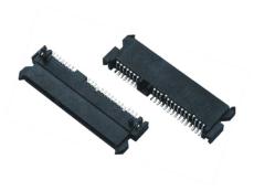 SATA 7加15P 22P母座SMT 3.5MM4.2MM5.2mm